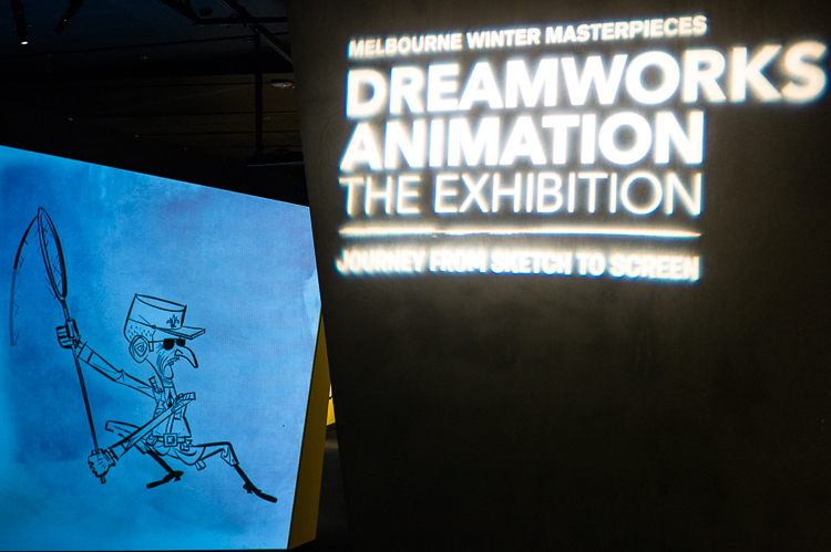 DreamWorks, exhibition, Melbourne, ACMI, Jamie Chan, No Foreign Lands, Blogger, Leica