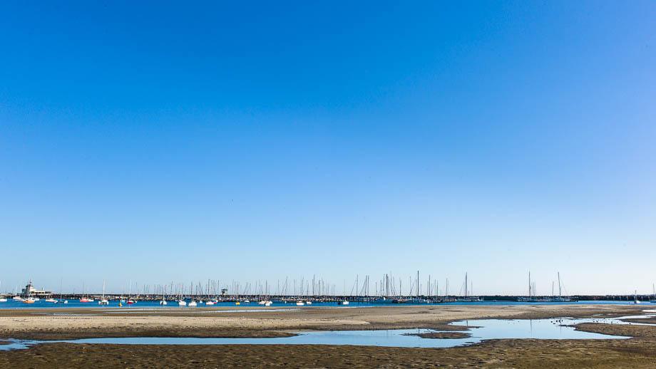 Melbourne, Leica, Blogger, Jamie Chan, No Foreign Lands, St Kilda, Beach, Blue