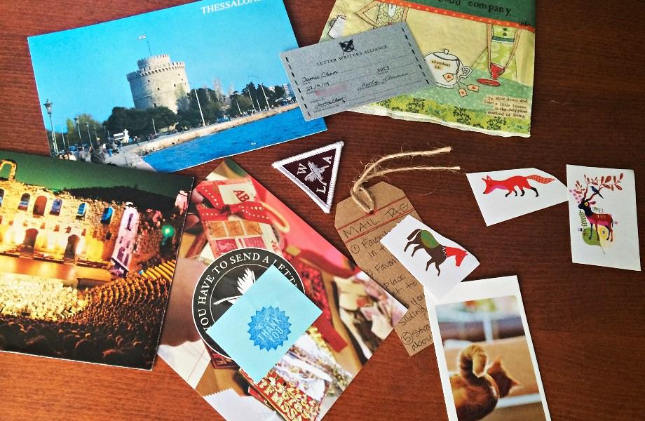 Goodies, penpals, snailmail, letter writing