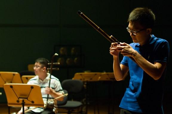 Double dizi, Tan Qing Lun, Chinese Musical Instrument, Performer, Esplanade Singapore