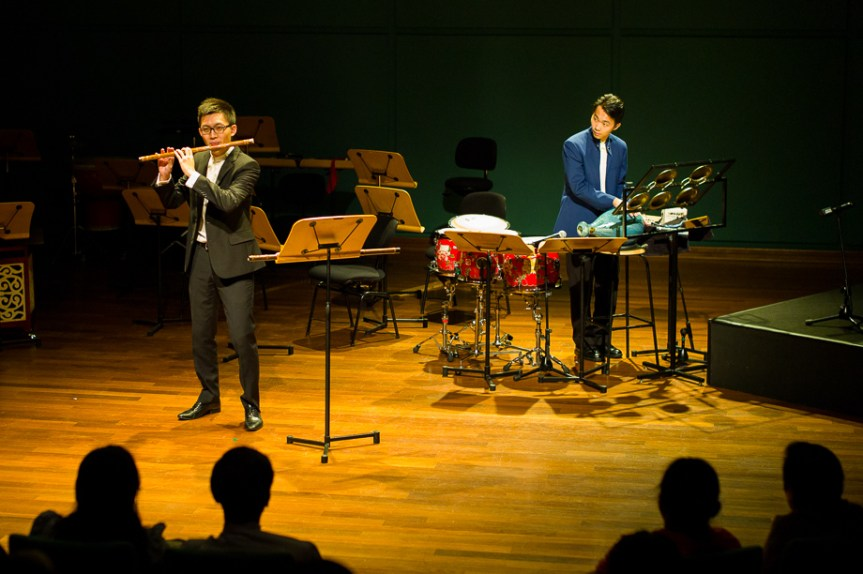 Chinese percussionist, Tan Qing Lun, Chinese Dizi, Music, Singapore