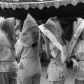 Chinese Funeral, Singapore, Traditions, Hooded women, Leica, Monochrome, Jamie Chan, Photography, Documentary