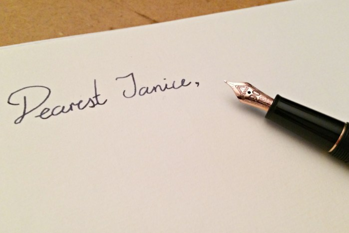 Penpal, Jamie Chan, Montblanc, Meisterstück, 90th anniversary, classique, Original Crown Mill Paper, rose gold, Midnight Blue, writing