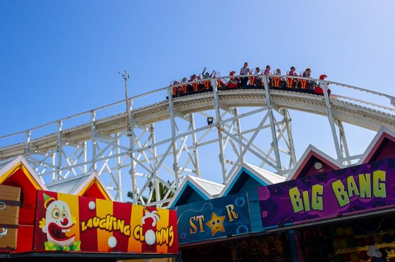 Instagram Worldwide meet, Melbourne, Luna Park, Roller Coaster, Australia