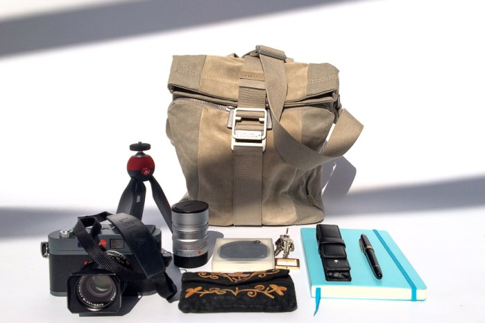 National Geographic NGP 2030, Manfrotto PIXI, Red, Cathay Photo, Product Review, Leuchtturm1917, Montblanc Meisterstuck, everyday carry, photographer, Jamie Chan, Leica M-E, Summilux