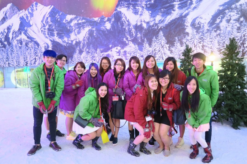 Resort World Genting, Singapore bloggers, travel, Malaysia, Behind the Scenes, Snow World, Jamie Chan