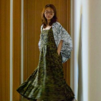 Jamie Chan, Micky in The Van, Australia Designer, Fashion, Sovereign Dress, Leica