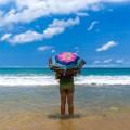 No Foreign Lands, kenting, Jamie Chan, travel, Leica, Umbrella,White Sands, beaches