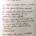 Rock your handwriting, May Prompts, Jamie Chan, No Foreign Lands, Blogger, Lifestyle, #rockyourhandwriting