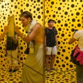 Yayoi Kusama, life is the heart of a rainbow, National Gallery Singapore, Social Media, Filter, Jamie Chan