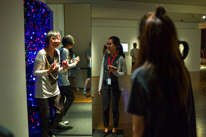 Yayoi Kusama, life is the heart of a rainbow, National Gallery Singapore, Social Media, Filter, Jamie Chan