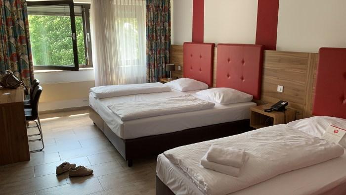 Hotel Michel, Wetzlar, beds, No Foreign Lands