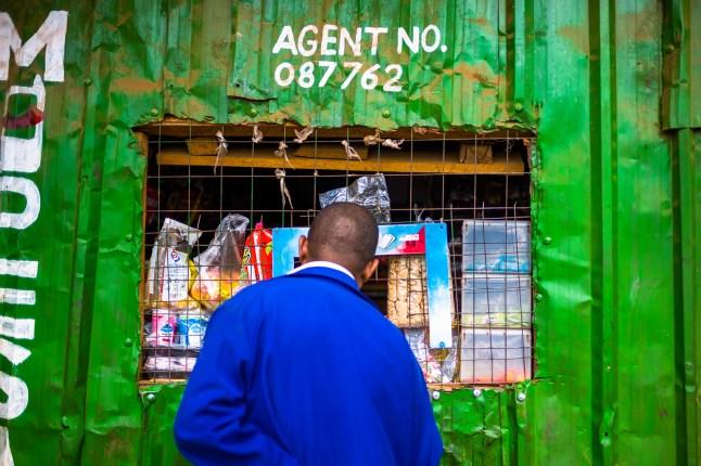 Shop, Kibera, Agent, Nairobi, Slum