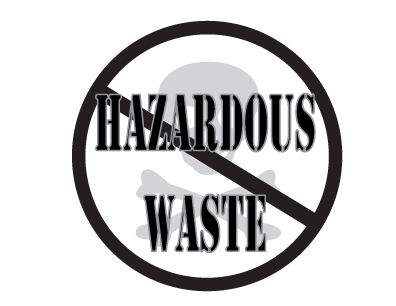 Stop HazWaste badge