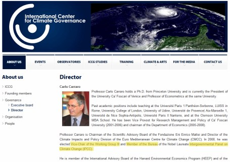 carraro_IPCC_vicechair
