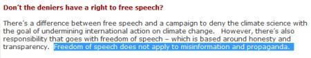 Le réchauffement climatique, mensonge éhonté ? - Page 8 Free_speech_deniers