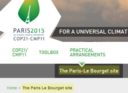 COP21_ParisLeBourget_airpor