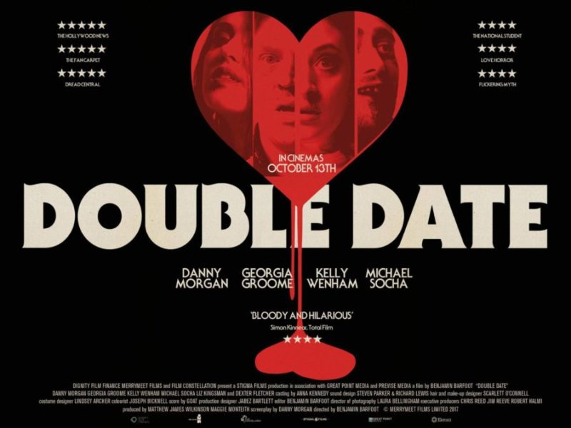 """Poster for Horror-Comedy Film """"Double Date"""""""