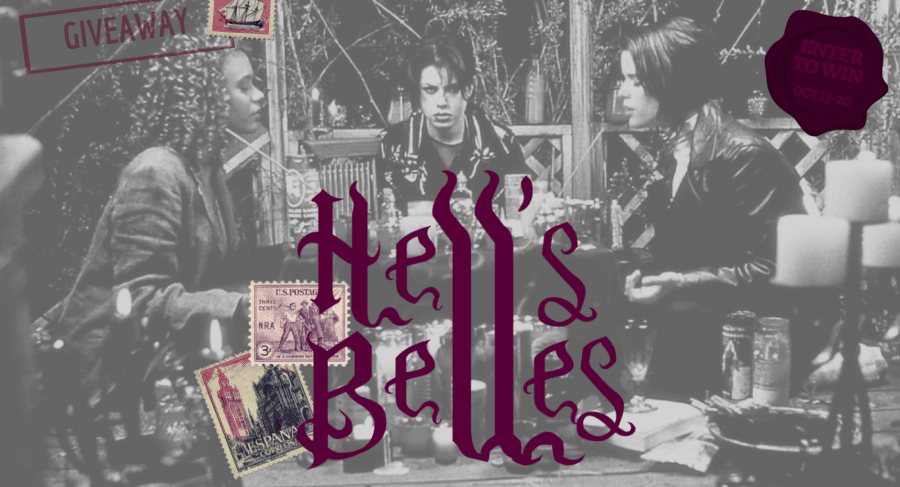 [Giveaway] Win a Witchy Prize Pack in the #HELLSBELLESGIVEAWAY – October 13-20th!