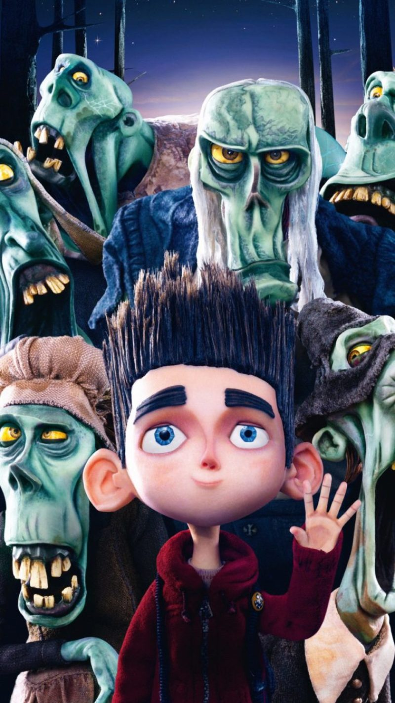 horror mobile background paranorman