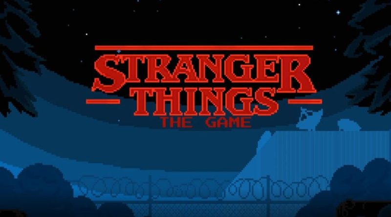 Stranger Things Mobile Game just released!