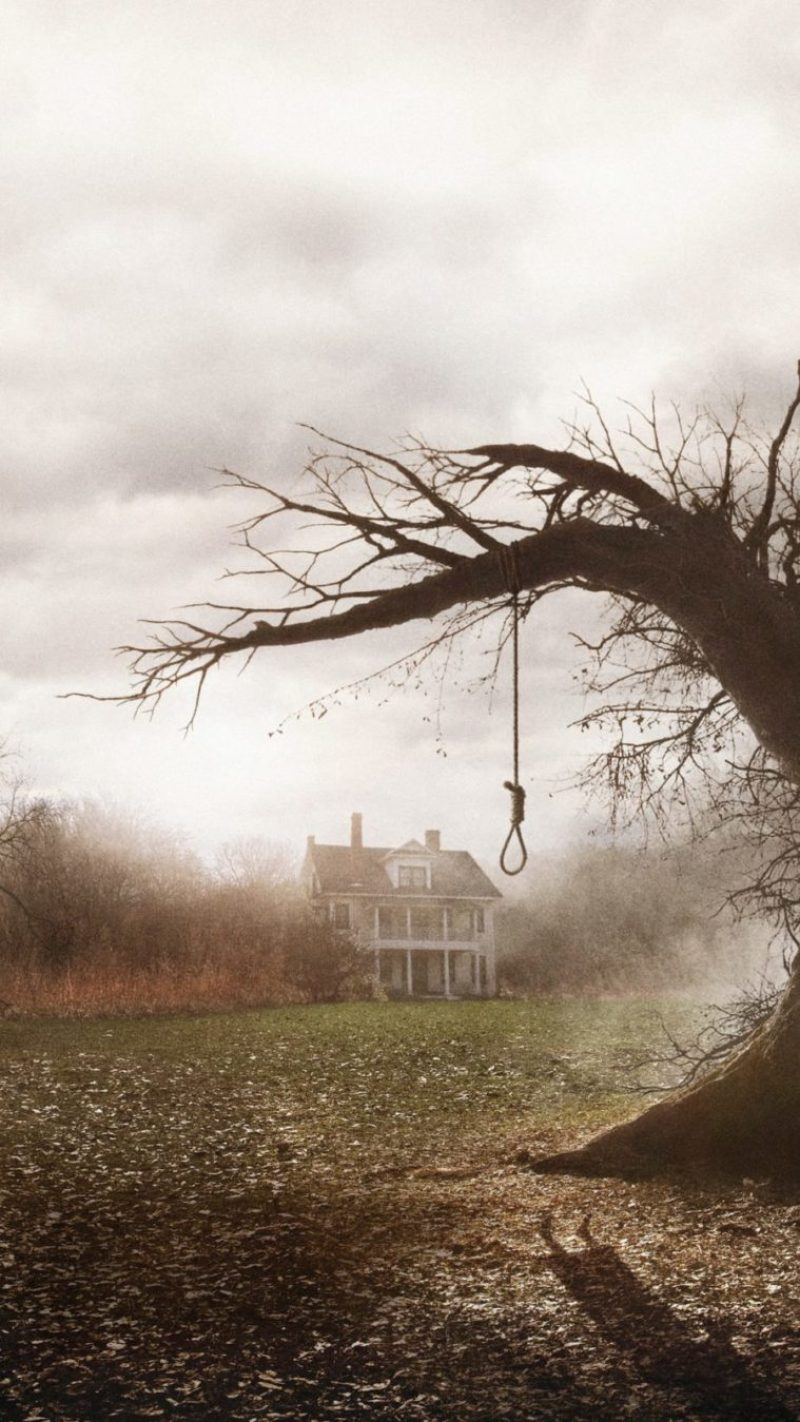 horror mobile background the conjuring