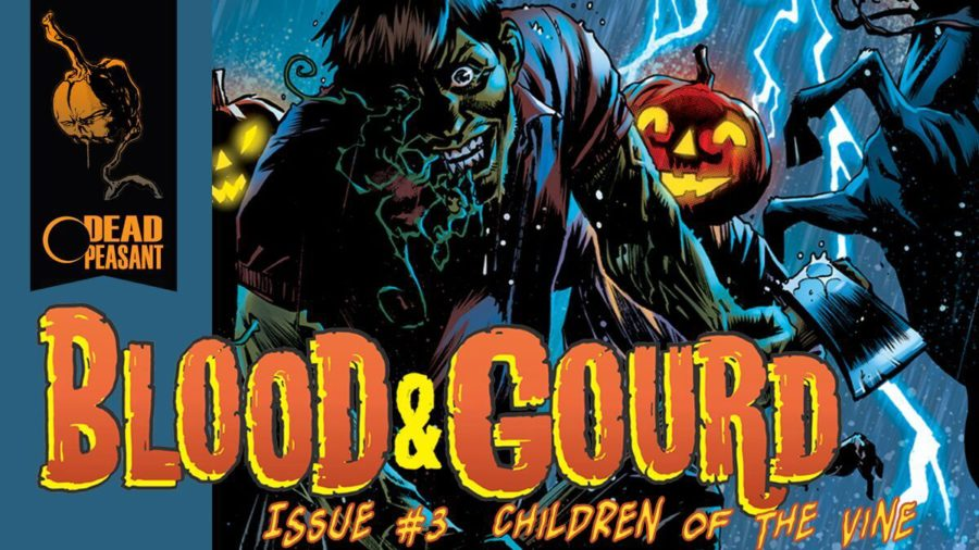 [Fund This] Support BLOOD & GOURD Horror Comic Book Series