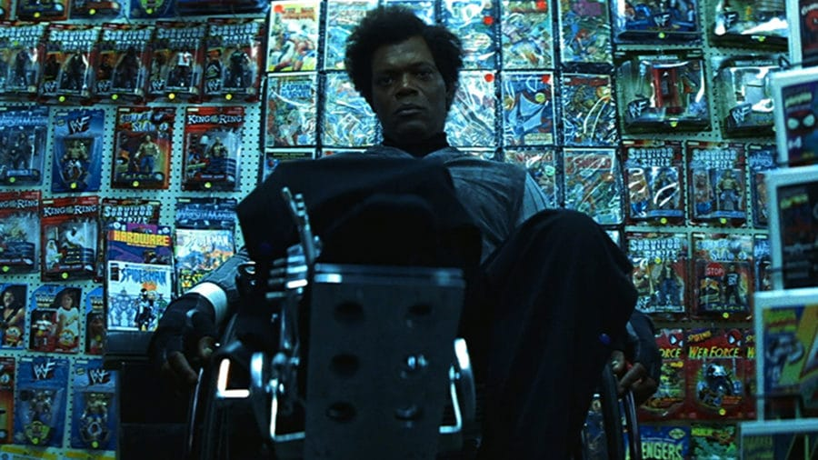 FIRST LOOK: Samuel L. Jackson as Mr. Glass on the set of GLASS