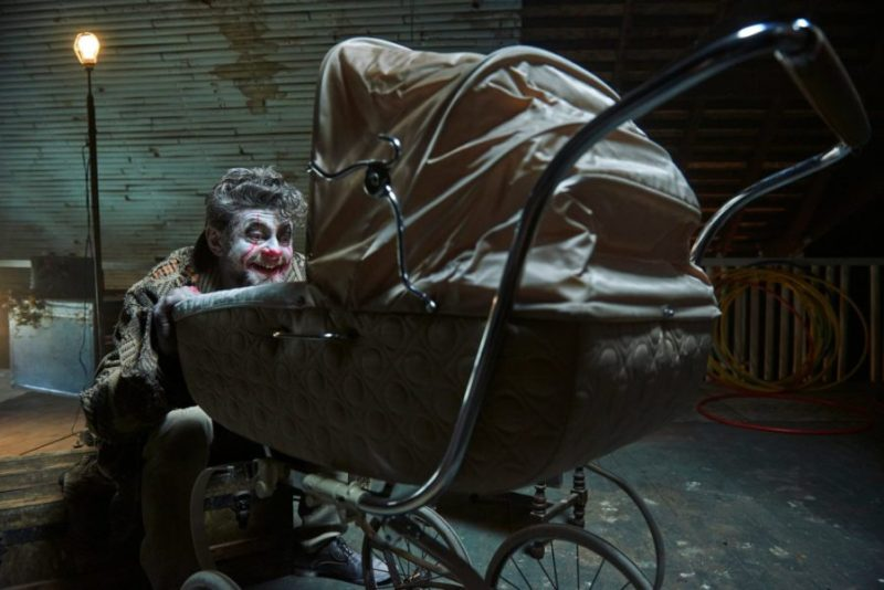 Andy Serkis as The Demented Clown