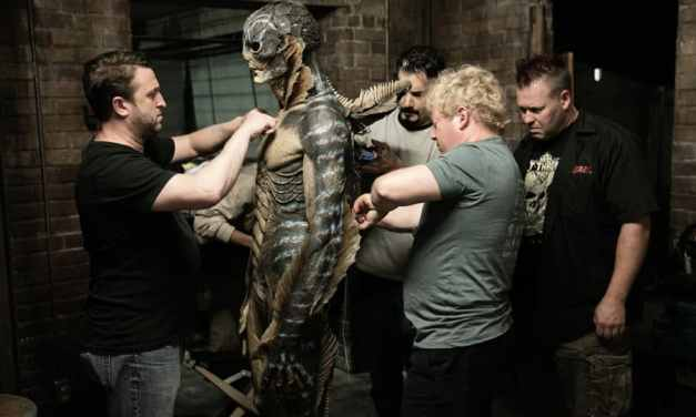 Dive Deep Into This Behind-The Scenes Look At THE SHAPE OF WATER'S Aquatic Monster