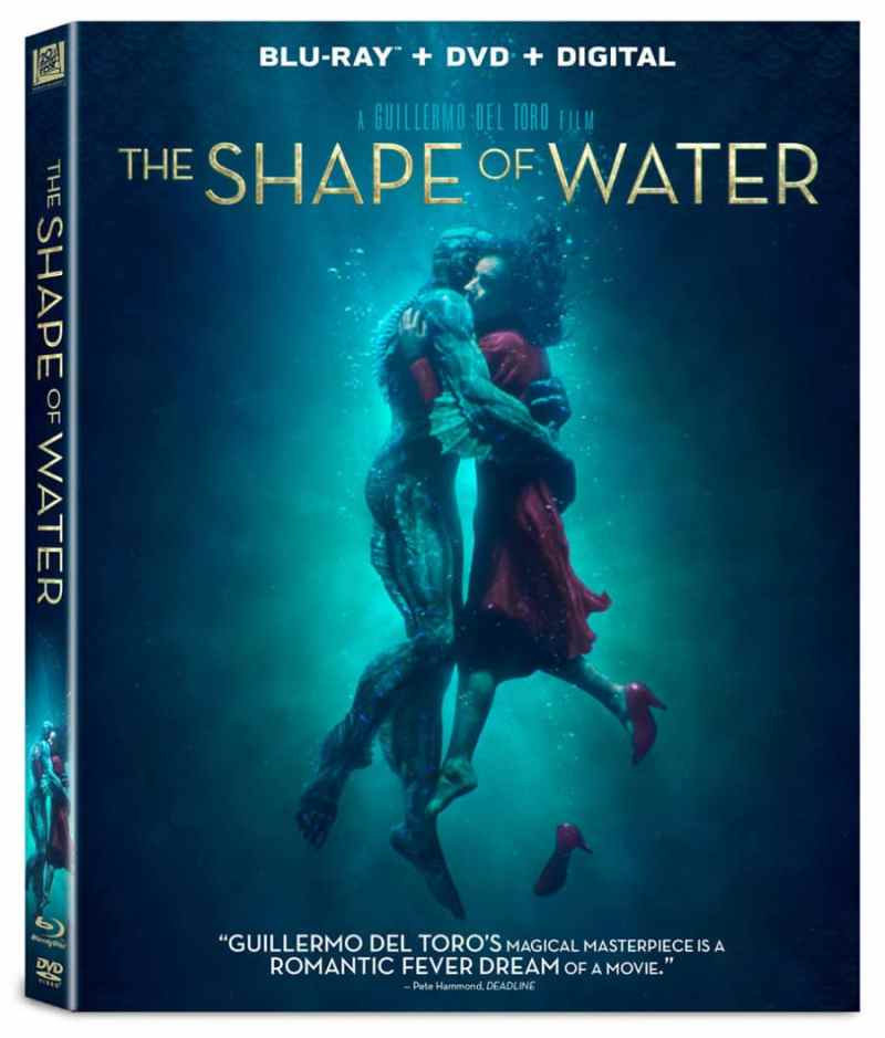 the shape of water blu ray