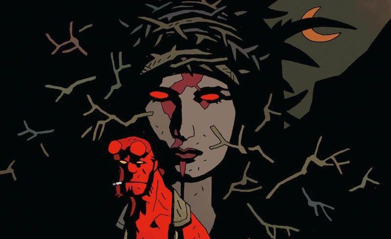 [First Look] Milla Jovovich Teases Images of The Blood Queen in 2019's HELLBOY