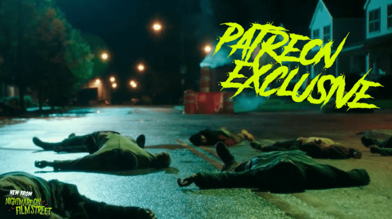 new episode of nightmare on film street horror podcast the first purge
