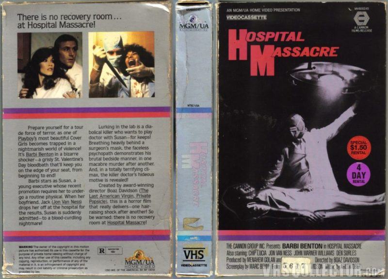 x-ray vhs cover