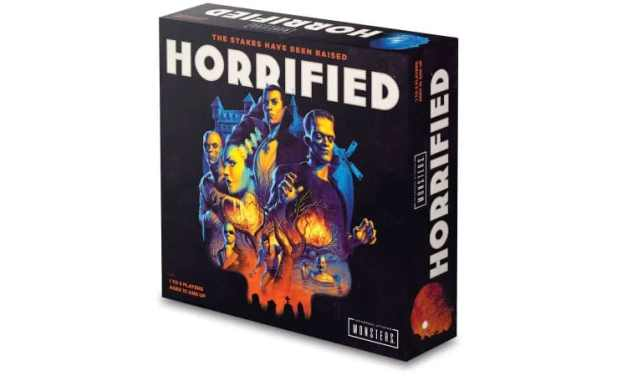 Defend Your Village From Iconic Creatures of the Night in New Boardgame HORRIFIED: UNIVERSAL MONSTERS