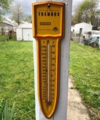 tremors thermometer - promotional horror merchandise - collector's crypt - nightmare on film street