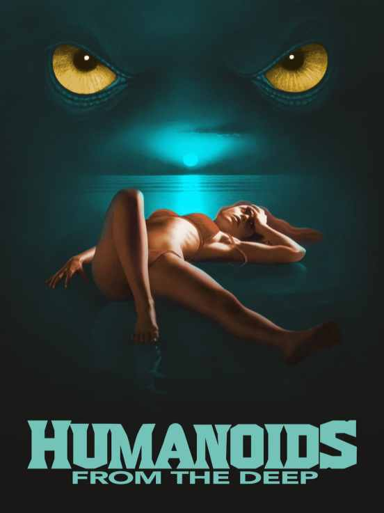 Humanoids from the Deep 1980 Poster