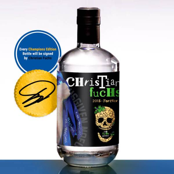 Champions Edition Gin - Back