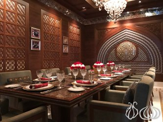 restaurant dining fine luxury oman al angham muscat meet menu nogarlicnoonions lebanon food dishes