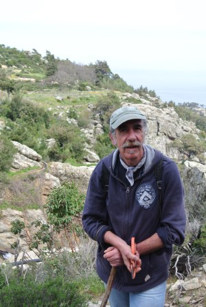 Our trusty guide, Angelos