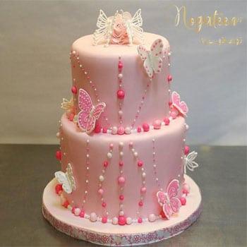 Nogateen Bridal shower cake