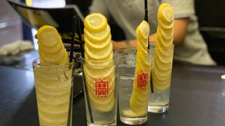 【野毛】大人気のレモンサワー(レモンタワー)がおすすめ「魚菜酒房 一休」【ぴおシティ】