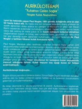 Auriküloterapi Kulaktan Gelen Sağlık Kitap Arka Kapağı 420-560 jpg 134 kb