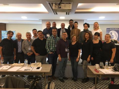 25-27 Ekiim 2019 1. Modül Klinik ve Pratik Auriküloterapi Semineri Grup Fotoğrafı