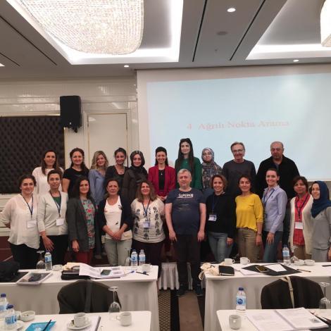 4-6 Ekim 2019 Ankara 1. Modül Klinik vr Pratik Aurilüloterapi Semieneri Grup Fotoğrafı