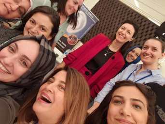 4-6 Ekim 2019 Ankara 1. Modül Klinik vr Pratik Aurilüloterapi Semieneri Selfi 1