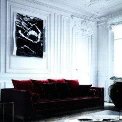 One Seater Sofa Chair Red Leather Sectional With Ottoman Velvet Inspiration