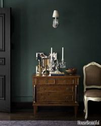 Dark Green Wall Inspiration