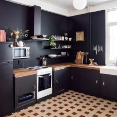 Kitchen Walls Cabinet Prices Home Renovation Black In The No Glitter Glory Pitch