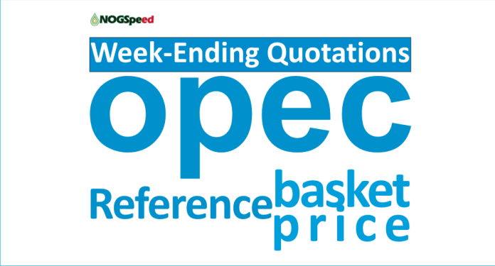 Week-Ending Quotations of OPEC Reference Basket Price
